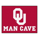 Fanmats 14685 Oklahoma Man Cave All-Star Mat 33.75