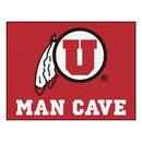 Fanmats 14705 Utah Man Cave All-Star Mat 33.75