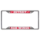 Fanmats 14793 NHL - Dertoit Red Wings License Plate Frame 6.25