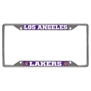 Fanmats 14796 NBA - Los Angeles Lakers License Plate Frame 6.25