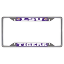 Fanmats 14799 LSU License Plate Frame 6.25