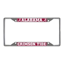 Fanmats 14805 Alabama License Plate Frame 6.25