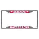 Fanmats 14808 Arkansas License Plate Frame 6.25