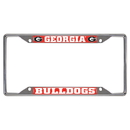 Fanmats 14814 Georgia License Plate Frame 6.25