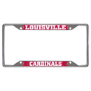 Fanmats 14820 Louisville License Plate Frame 6.25