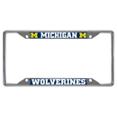 Fanmats 14823 Michigan License Plate Frame 6.25