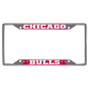 Fanmats 14847 NBA - Chicago Bulls License Plate Frame 6.25