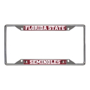 Fanmats 14859 Florida State License Plate Frame 6.25