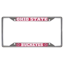 Fanmats 14871 Ohio State License Plate Frame 6.25