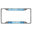 Fanmats 14874 NBA - Oklahoma City Thunder License Plate Frame 6.25