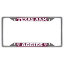 Fanmats 14895 Texas A&M License Plate Frame 6.25