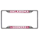 Fanmats 14922 Oklahoma License Plate Frame 6.25