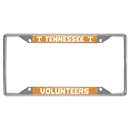 Fanmats 14931 Tennessee License Plate Frame 6.25