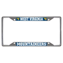 Fanmats 14943 West Virginia License Plate Frame 6.25