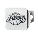 Fanmats 14969 NBA - Los Angeles Lakers Chrome Hitch Cover 3.4