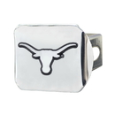 Fanmats 14999 Texas Chrome Hitch Cover 3.4