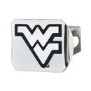 Fanmats 15055 West Virginia Chrome Hitch Cover 3.4