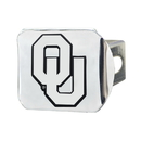 Fanmats 15067 Oklahoma Chrome Hitch Cover 3.4