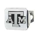 Fanmats 15103 Texas A&M Chrome Hitch Cover 3.4