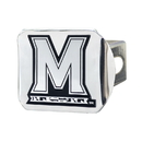 Fanmats 15112 Maryland Chrome Hitch Cover 3.4