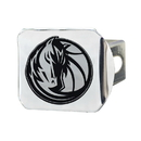 Fanmats 15120 NBA - Dallas Mavericks Chrome Hitch Cover 3.4