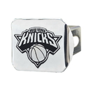 Fanmats 15126 NBA_New York Knicks Chrome Hitch Cover 3.4