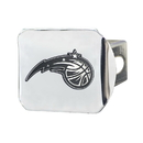 Fanmats 15132 NBA - Orlando Magic Chrome Hitch Cover 3.4