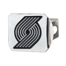 Fanmats 15135 NBA - Portland Trail Blazers Chrome Hitch Cover 3.4