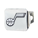 Fanmats 15141 NBA - Utah Jazz Chrome Hitch Cover 3.4