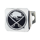 Fanmats 15146 NHL - Buffalo Sabres Chrome Hitch Cover 3.4