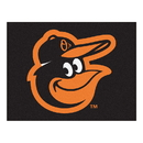 Fanmats 15172 MLB - Baltimore Orioles Cartoon Bird All-Star Mat 33.75