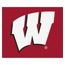 Fanmats 1641 Wisconsin Tailgater Rug 59.5