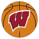 Fanmats 1643 Wisconsin Basketball Mat 27
