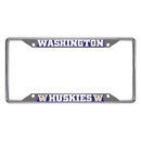 Fanmats 16836 Washington License Plate Frame 6.25