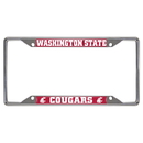 Fanmats 16837 Washington State License Plate Frame 6.25