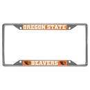 Fanmats 16838 Oregon State license plate frame 6.25