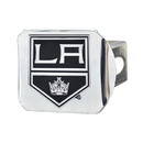 Fanmats 17160 NHL - Los Angeles Kings Chrome Hitch Cover 3.4