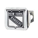 Fanmats 17168 NHL - New York Rangers Chrome Hitch Cover 3.4