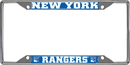 Fanmats 17170 NHL - New York Rangers License Plate Frame 6.25