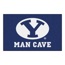 Fanmats 17256 Brigham Young Man Cave UltiMat 59.5