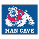 Fanmats 17263 Fresno State Man Cave Tailgater Rug 59.5