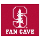 Fanmats 17279 Stanford Fan Cave Tailgater Rug 59.5