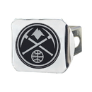 Fanmats 17588 NBA - Denver Nuggets Chrome Hitch Cover 3.4