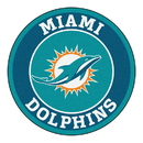 Fanmats 17964 NFL - Miami Dolphins Roundel Mat 27