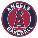Fanmats 18138 MLB - Los Angeles Angels Roundel Mat 27
