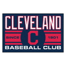 Fanmats 18466 Cleveland Indians Baseball Club Starter Rug 19