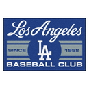 Fanmats 18472 Los Angeles Dodgers Baseball Club Starter Rug 19
