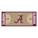 Fanmats 18504 Alabama Basketball Court Runner 30