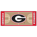 Fanmats 18505 Georgia Basketball Court Runner 30