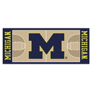 Fanmats 18506 Michigan Basketball Court Runner 30